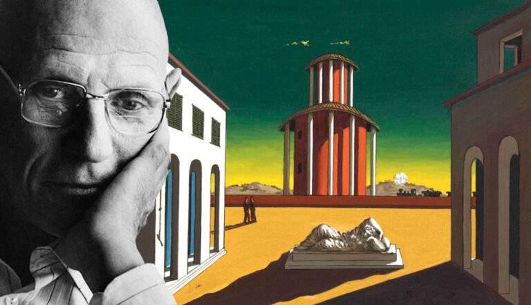 michel foucault philosophy chirico piazza arianna
