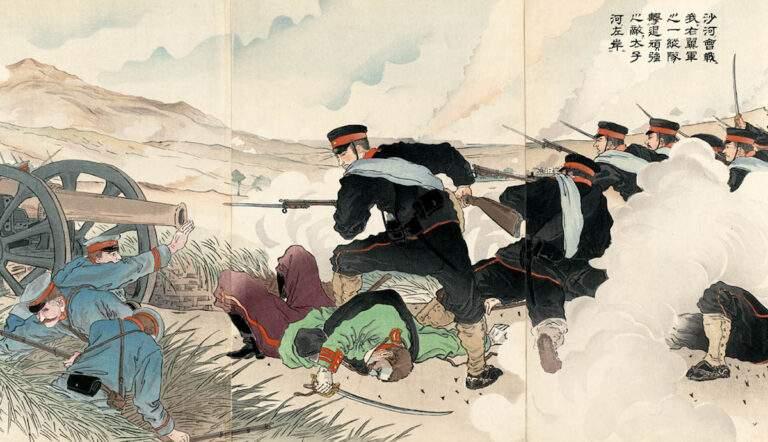 russo japanese war batte sha river taizi yoshikuni