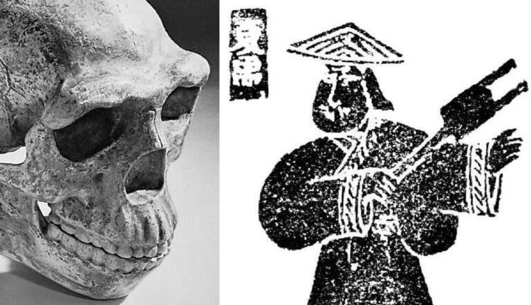 yu great xia dynasty china peking skull